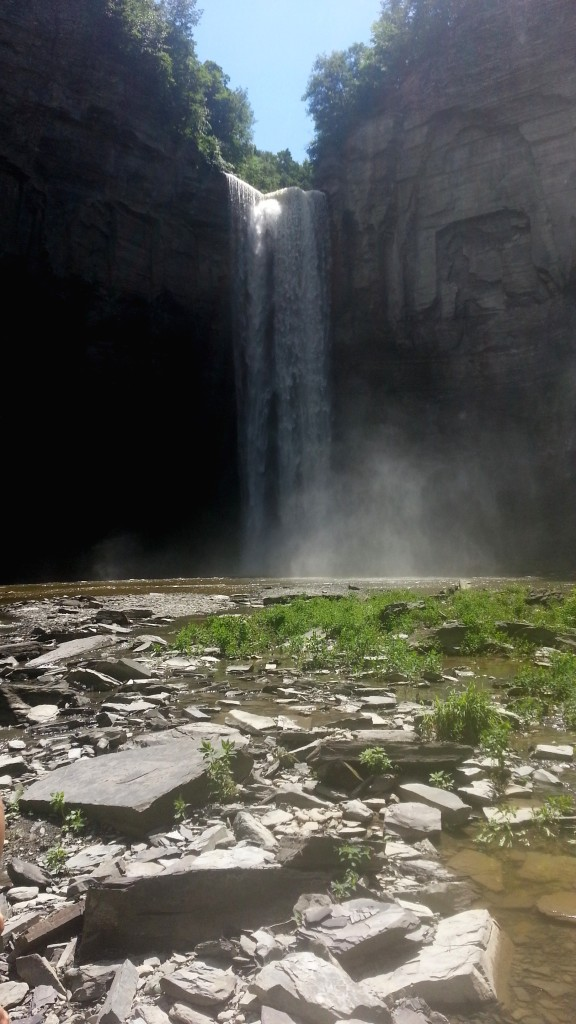 Taughannock Falls - weekend getaway from nyc