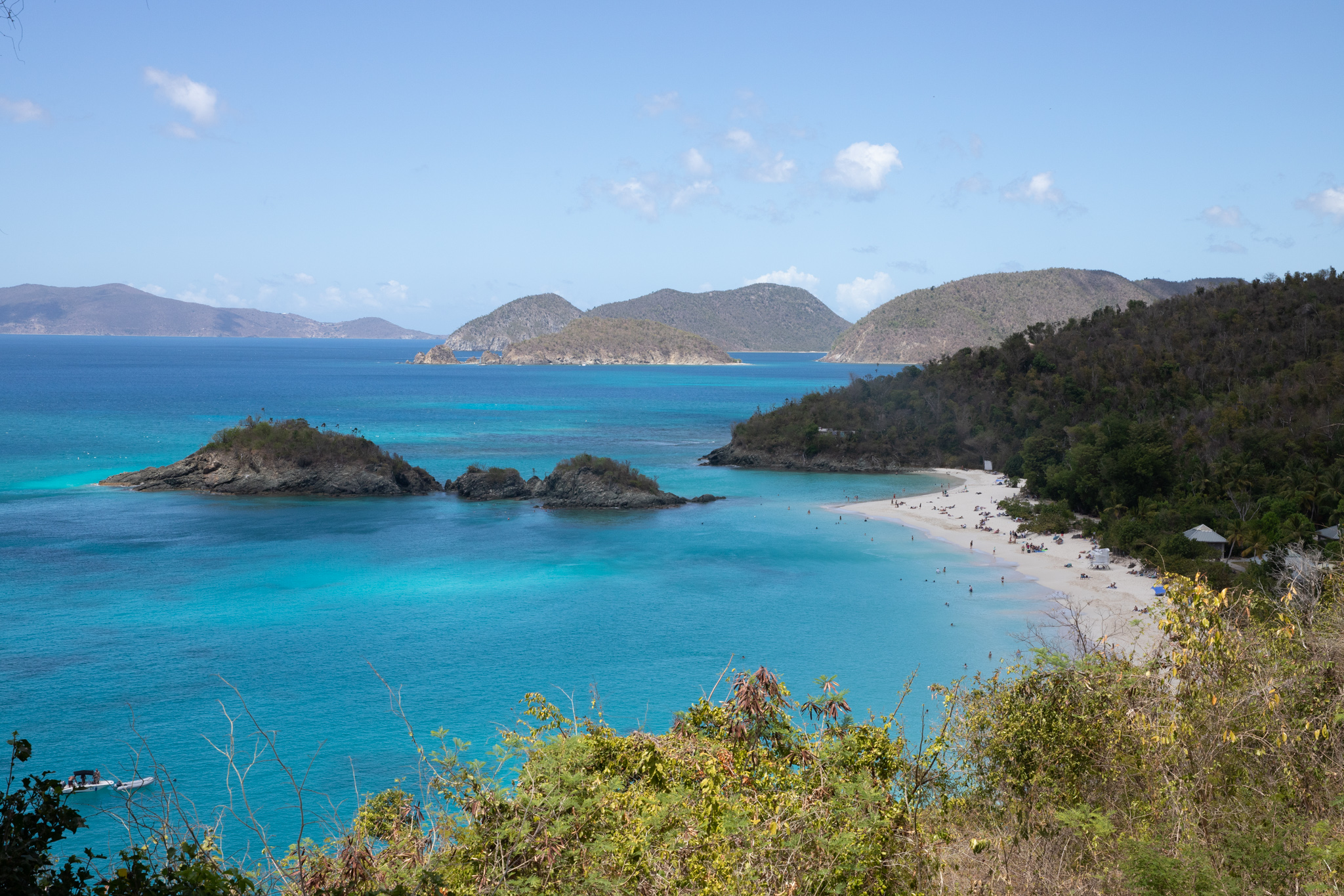 7 day itinerary for US Virgin Islands